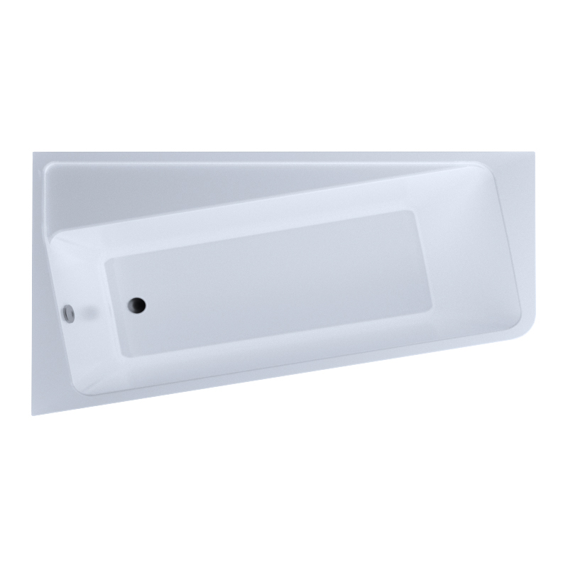 Акриловая ванна 1MarKa Marka One Direct 170х100 L без гидромассажа