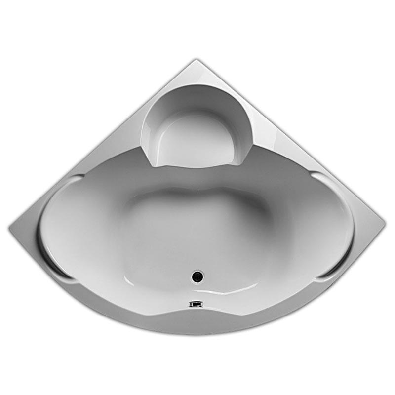 Акриловая ванна 1MarKa Marka One Trapani 140x140 без гидромассажа