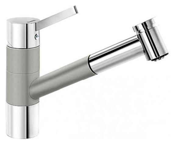 Смеситель Blanco Tivo-s 520755 хром/жемчужный для кухни цены онлайн