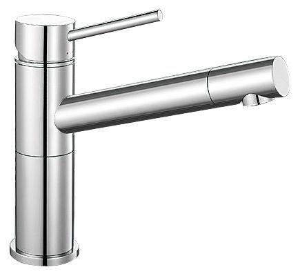 Смеситель Blanco Alta Compact 515120 хром для кухни смеситель для кухни blanco tera хром
