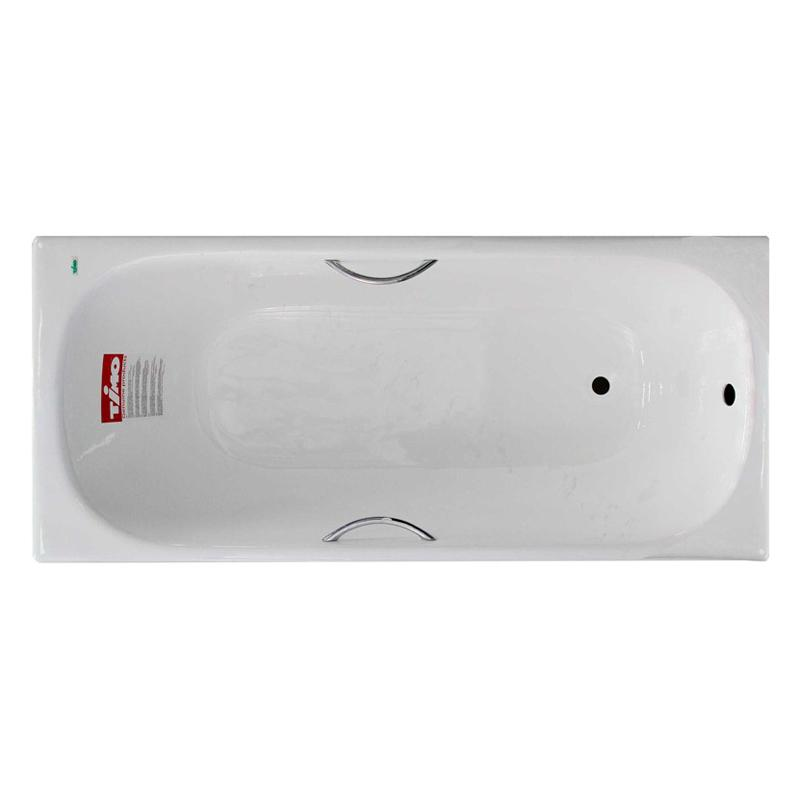 Чугунная ванна Timo Standard 170 с ручками цена