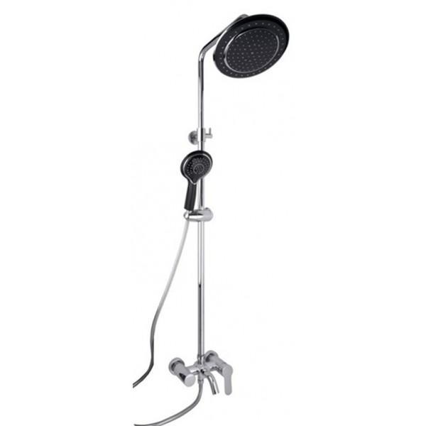 Душевая стойка Timo Polo SX 1100 Black душевая система timo nelson для ванны хром sx 1290 00 chrome