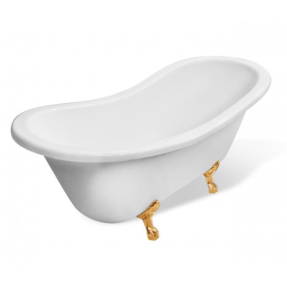 Ванна Эстет Бостон белая ванна эстет лаура белая