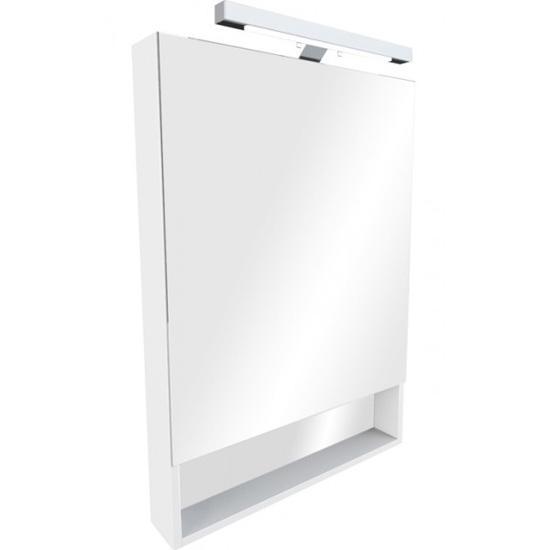 Зеркальный шкаф Roca Gap 80 белый плёнка крышка roca meridian биде лакированная с механизмом мягкого закрывания 8062a2004