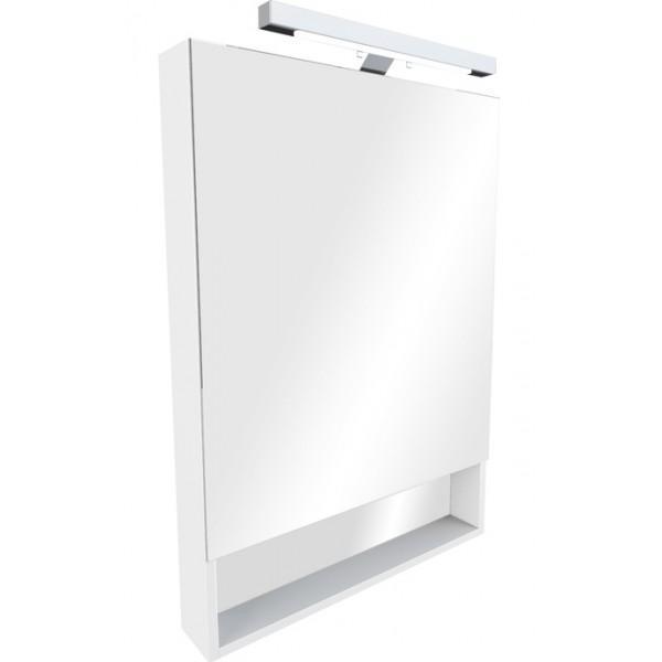 Зеркальный шкаф Roca Gap 60 белый плёнка крышка roca meridian биде лакированная с механизмом мягкого закрывания 8062a2004