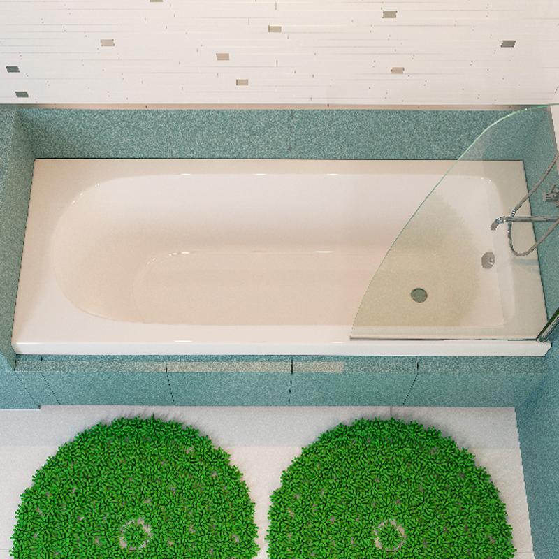 Акриловая ванна Alpen Fontana 170х75 акриловая ванна alpen fontana 170x75 комплект