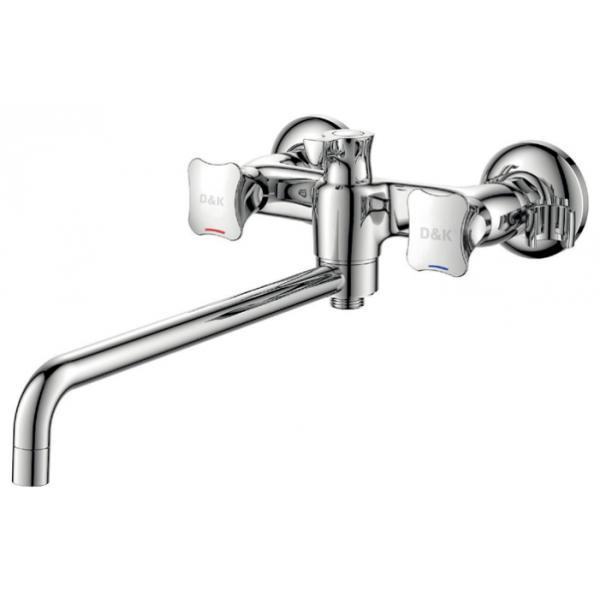 Смеситель D&K Hessen Grimm DA1383301 для ванны душевой трап pestan square 3 150 мм 13000007