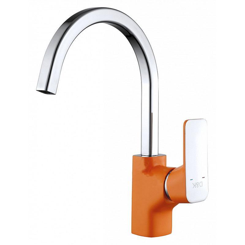 Смеситель D&K Berlin Kunste DA1432413 для кухни смеситель для мойки 201 высокий однорычажный серый polygran полигран