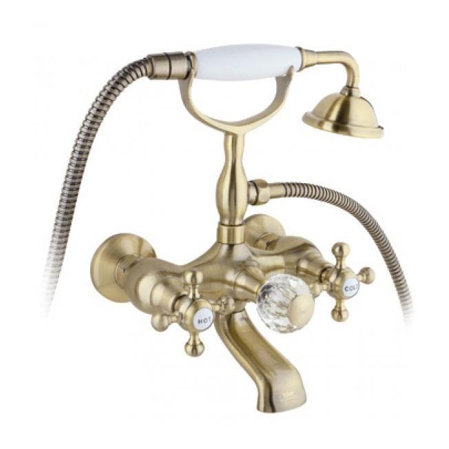 Смеситель Timo Nelson 1914Y CR антик для ванны смеситель для ванны коллекция nelson 1914y cr antique двухвентильный античная бронза timo тимо