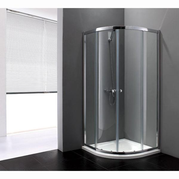 Душевой уголок Cezares Anima R2 100 матовое стекло, профиль хром душевой уголок royal bath 100 100 198 стекло шиншилла rb10hkc