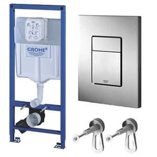Инсталляция для унитаза Grohe Rapid SL 38772001 холодильник pozis rk fnf 174 серебристый