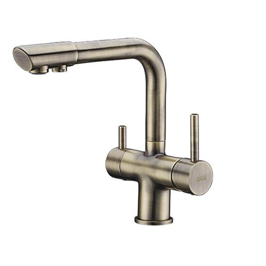 Смеситель WasserKRAFT A8037 светлая бронза для кухни