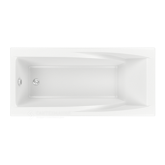 Акриловая ванна Bas Эвита 180x85 без гидромассажа ванна акриловая bas тесса 1400х700 мм