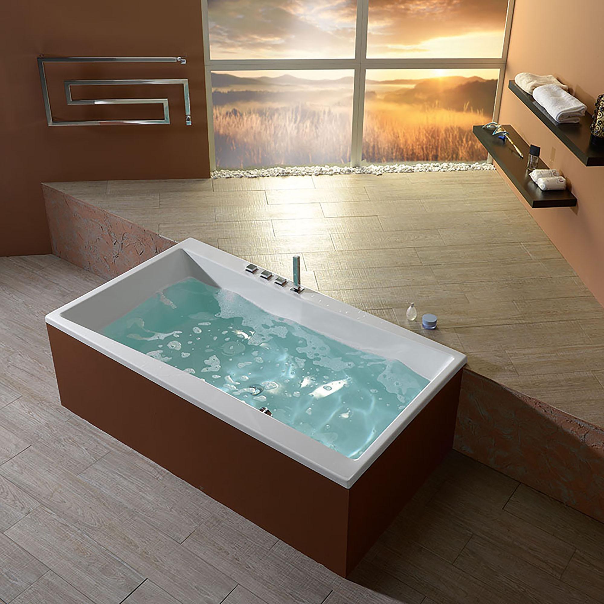 Акриловая ванна Alpen Quest 180x100 каркас для ванны alpen quest 180х100 kmaquest