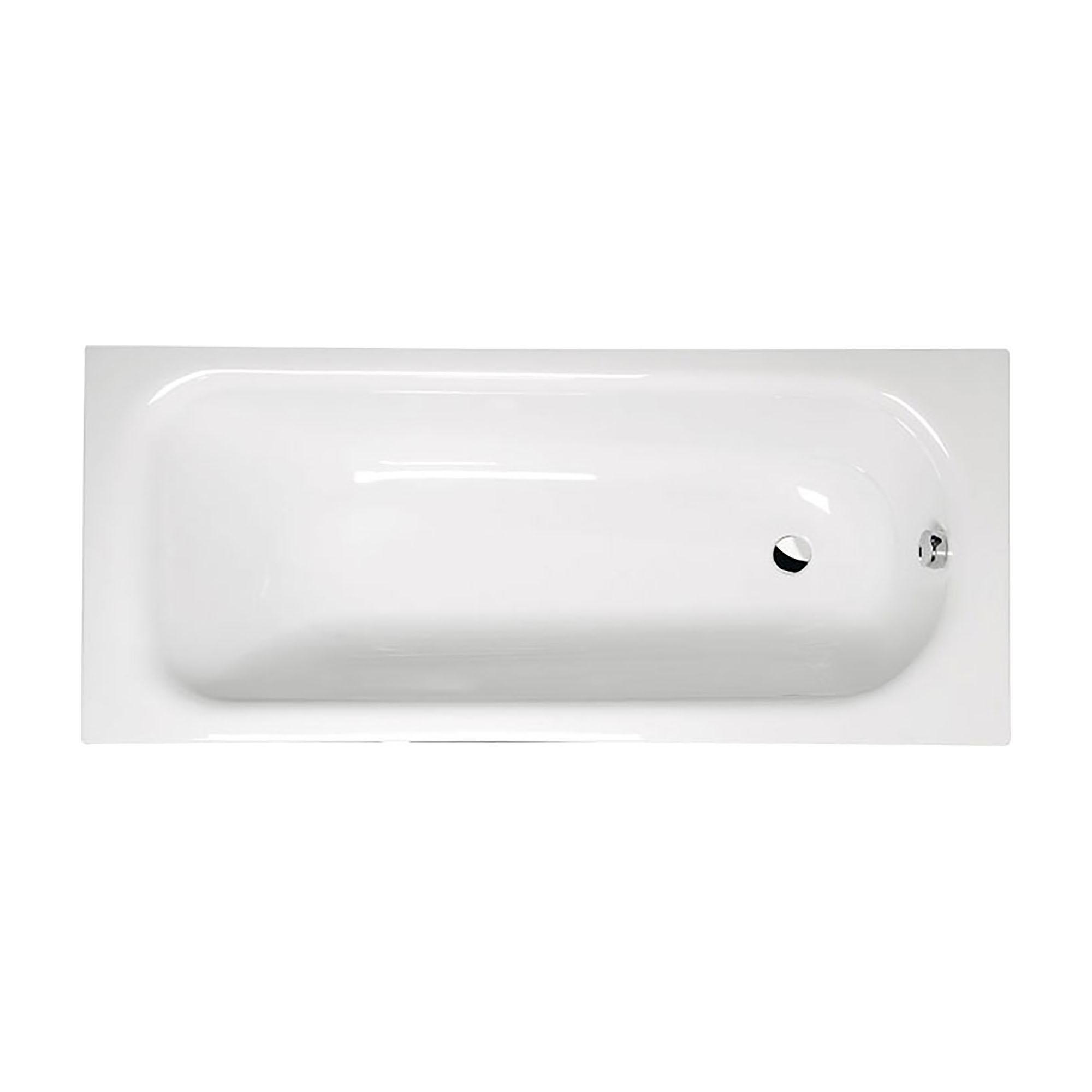 Акриловая ванна Alpen Laura 170x75 акриловая ванна alpen fontana 170x75 комплект