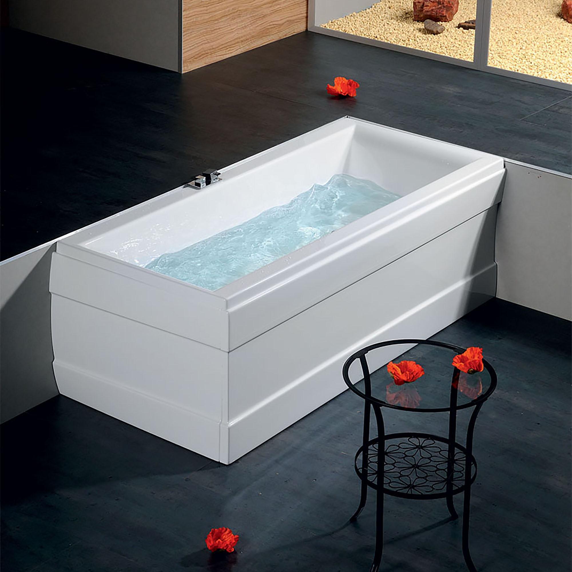 Акриловая ванна Alpen Cleo 170x75 акриловая ванна alpen fontana 170x75 комплект