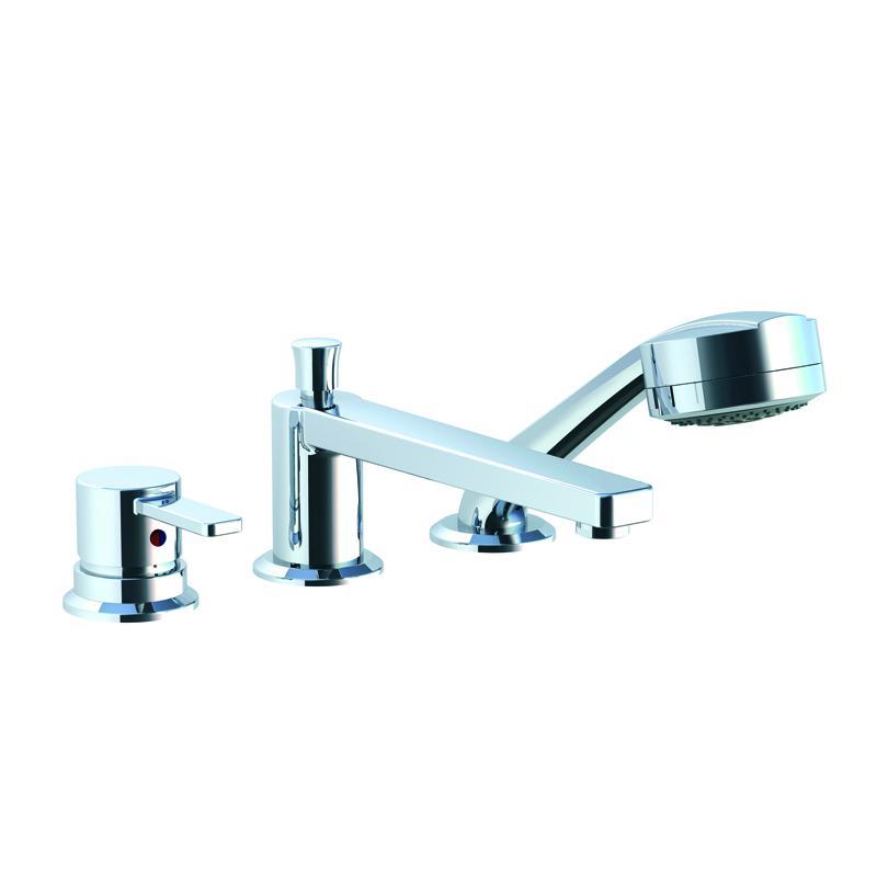 Смеситель Kludi Zenta 38447 0575 для ванны смеситель для ванны хром kludi 388120538