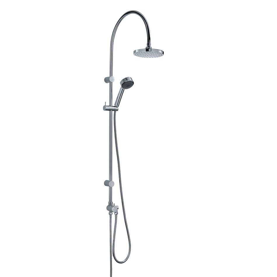 Душевая система Kludi Dual 6167705 ручной душ duschy антикорозийный цвет хром 1 режим