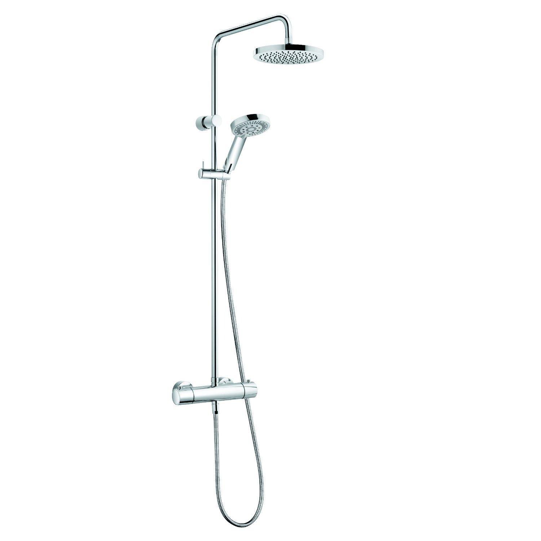 Душевая система Kludi Dual 6609005 ручной душ duschy антикорозийный цвет хром 1 режим