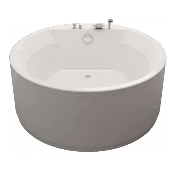 Акриловая ванна Kolpa san Vivo 160x160 /O basis фронтальная панель santek монако 160 см 1wh112078