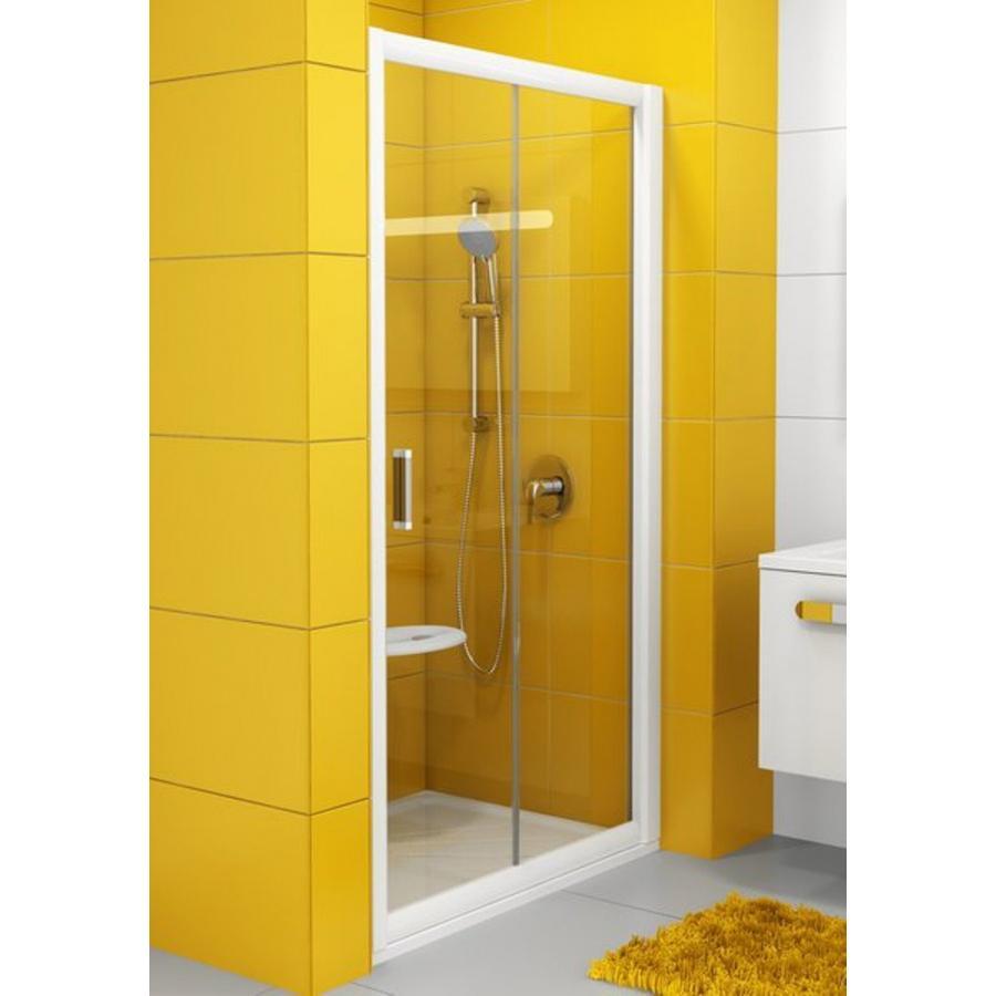 Душевая дверь Ravak NRDP2 100 L белая + Транспарент