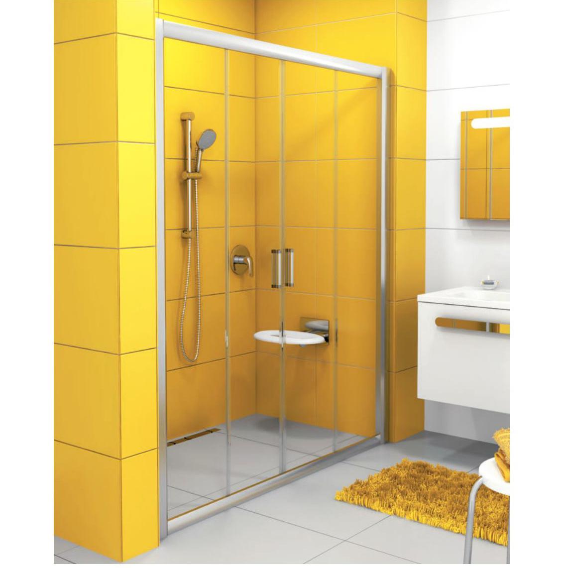 Душевая дверь Ravak NRDP4 160 белая + Транспарент