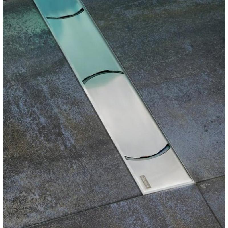 Трап для душа OZ Ravak Chrome 950 stainless кронштейн для душа ravak chrome x07p011
