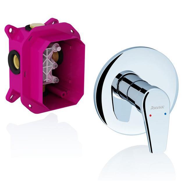 Смеситель Ravak Neo NO 066.00 для душа смеситель для ванны ravak neo no 061 00 x070020