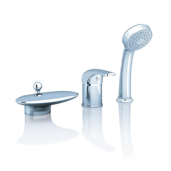 Смеситель Ravak Rosa RS 025.00 для ванны врезной смеситель каскадный для ванны rs 025 00 rosa