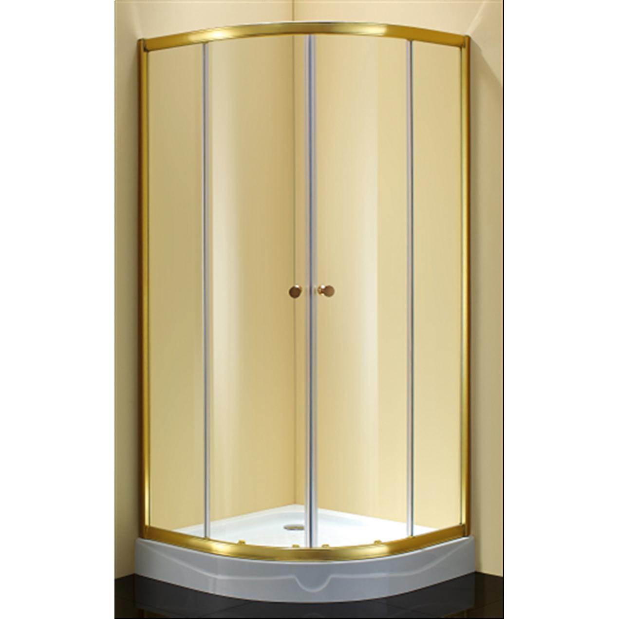Душевой уголок Sturm Gallery 90x90х190 профиль золото душевой поддон sturm gallery 100х100х14 black