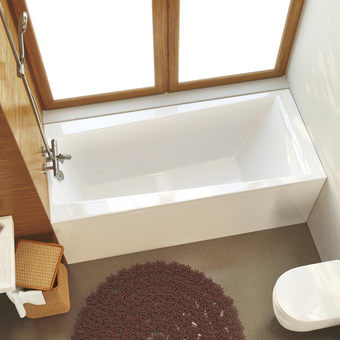 Акриловая ванна Alpen Flora 170x75 без гидромассажа акриловая ванна alpen mars 170x75 комплект