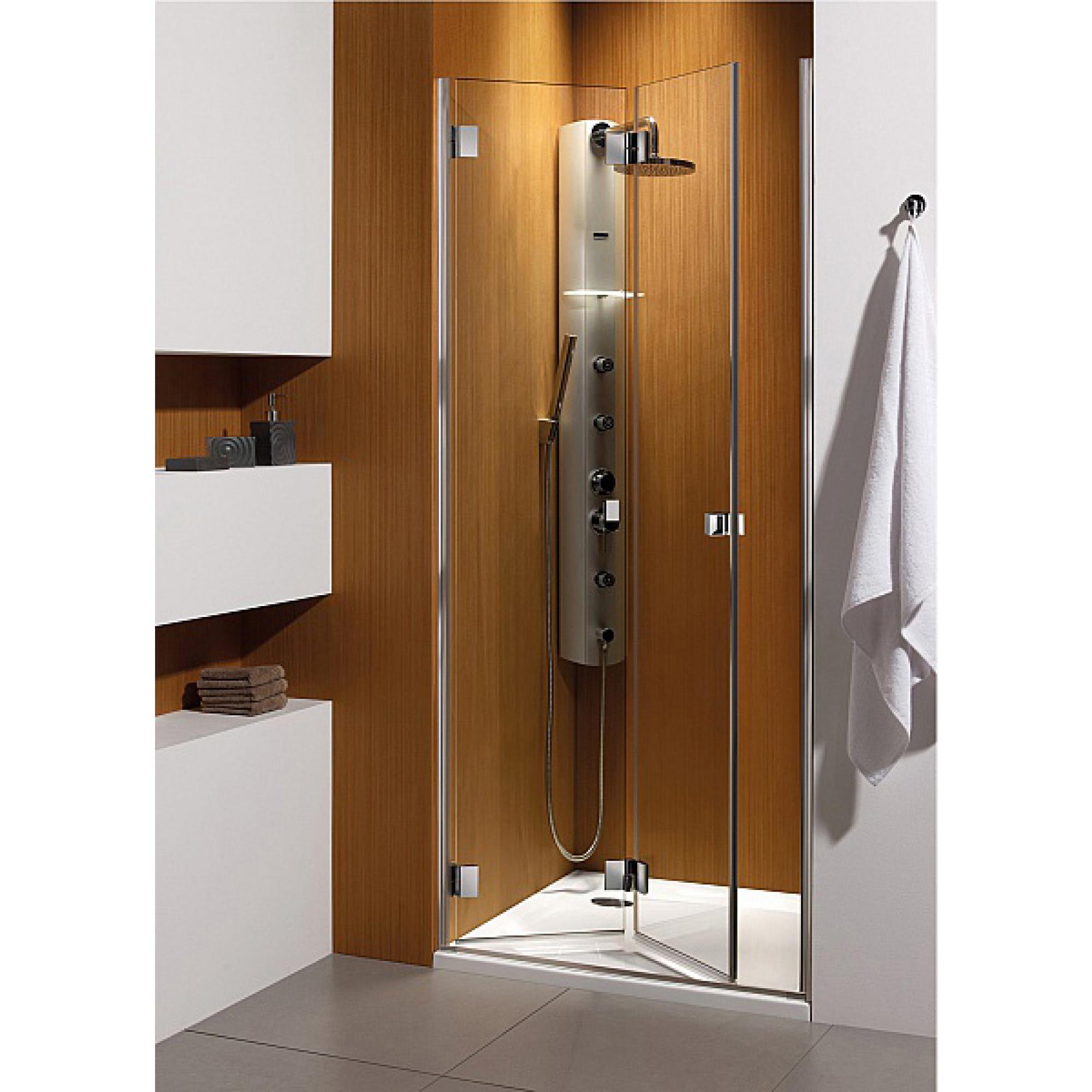 Душевая дверь Radaway Carena DWB 90 L хром/прозрачное