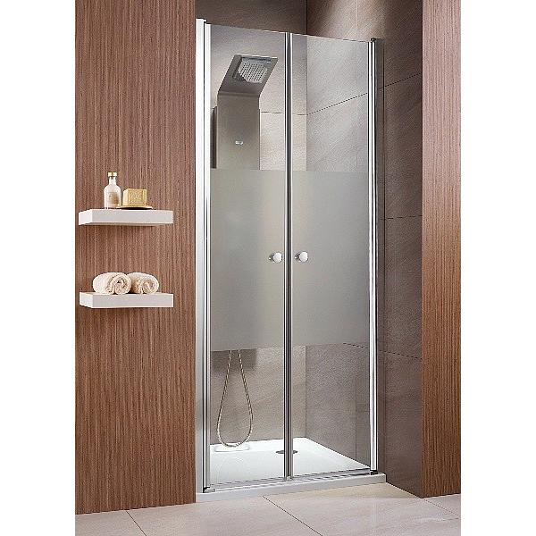 Фото - Душевая дверь Radaway EOS DWD 90 хром/прозрачное душевая дверь radaway eos dwd 70x197 37783 01 01n стекло прозрачное