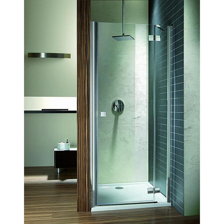 Душевая дверь Radaway Almatea DWJ 90 R хром/коричневое матрас dreamline springless soft slim 90х195 см