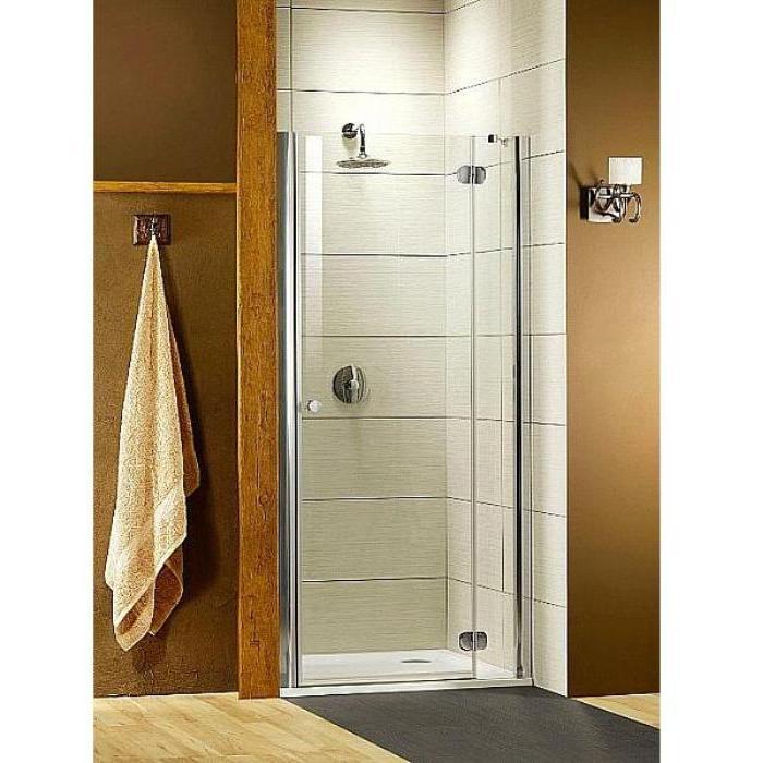 Душевая дверь Radaway Torrenta DWJ 110 Rхром/прозрачное