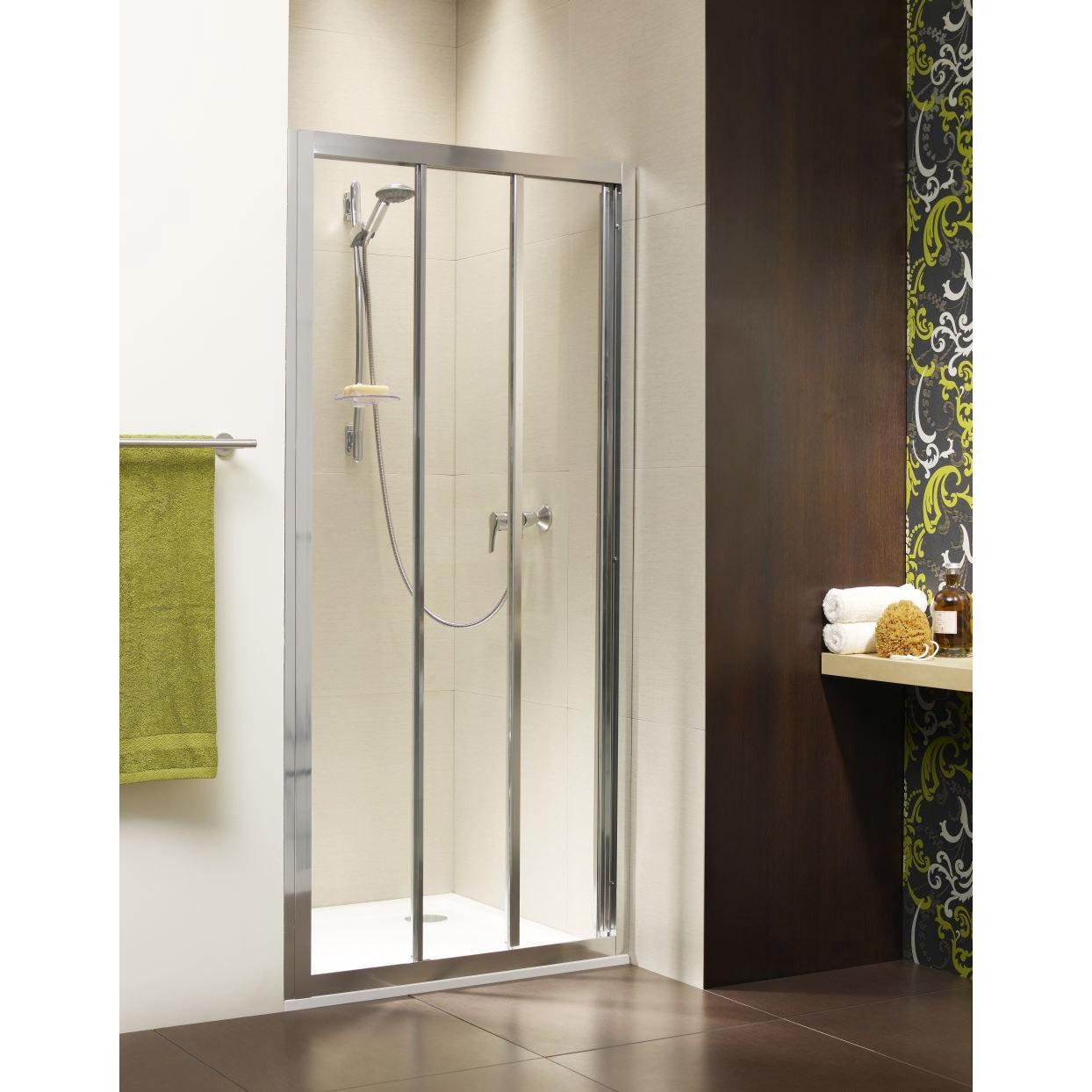 Душевая дверь Radaway Treviso DW 90 хром/фабрик душевая дверь radaway treviso dw 100 хром коричневое