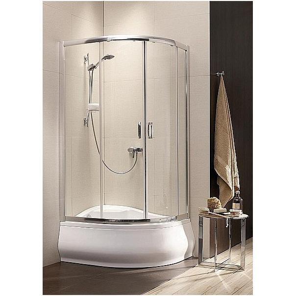 Душевой уголок Radaway Premium Plus E 120х170 профиль хром, стекло фабрик