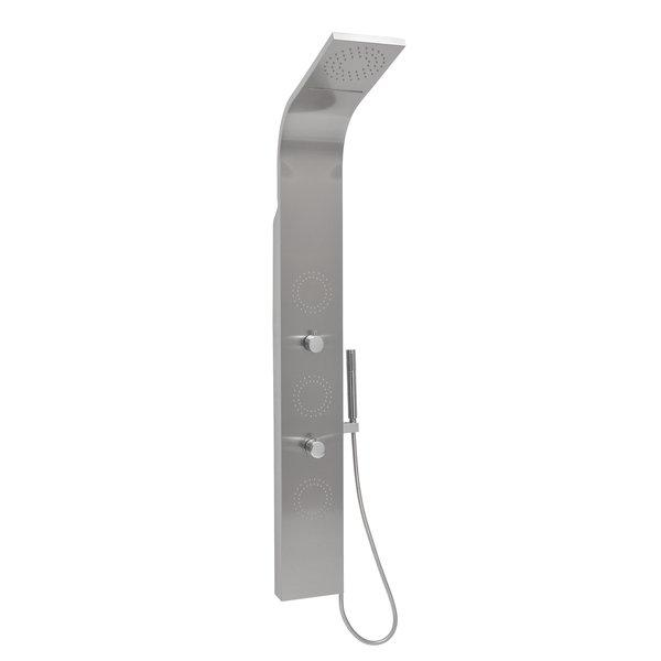 Душевая панель Ravak Totem Jet Inox ручной душ ravak flat x07p344