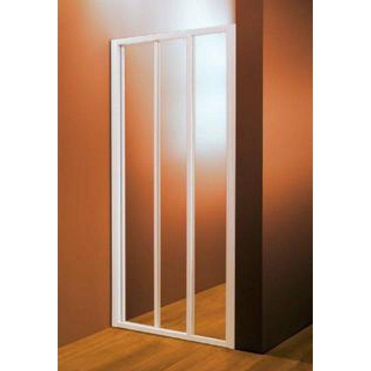 Душевая дверь Ravak ASDP3 110 белый профиль, полистерол закрытая душевая кабина domani spa light 110 белая без электрики