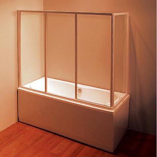 Шторка для ванны Ravak AVDP3 120 профиль хром, матовое стекло шторка для ванны cezares pratico v 5 120 140 p cr матовое стекло профиль хром l левая