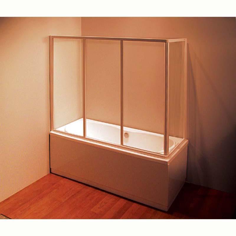 Шторка для ванны Ravak AVDP3 120 профиль хром, прозрачное стекло цена