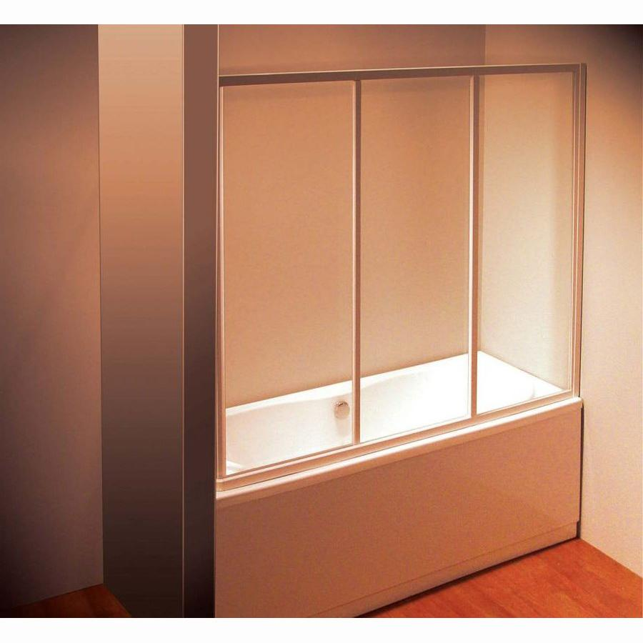 Шторка для ванны Ravak AVDP3 160 профиль хром,прозрачное стекло