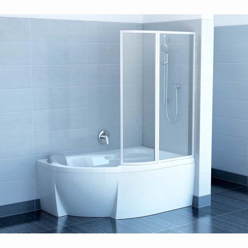 Шторка для ванны Ravak VSK2 Rosa 160 P прозрачное стекло цена