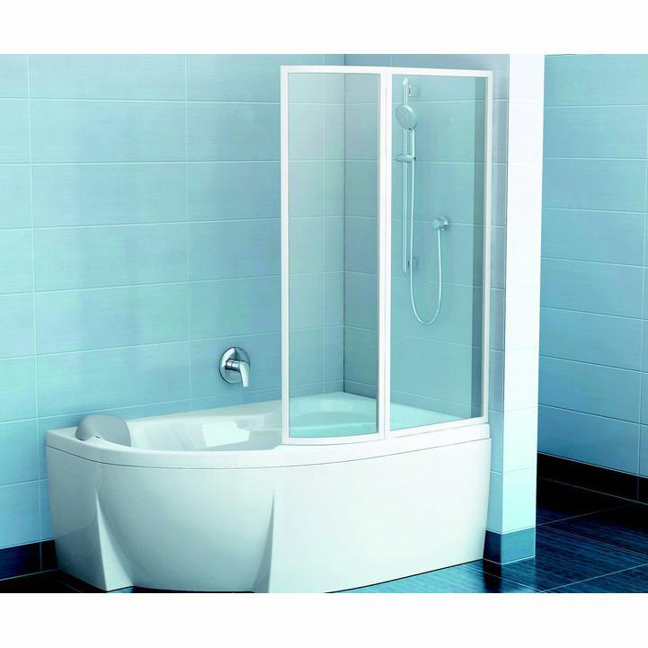 Шторка для ванны Ravak VSK2 Rosa 170 P прозрачное стекло экран для ванны triton джена 170