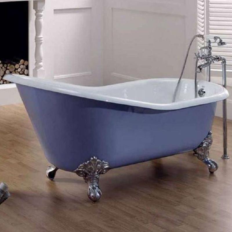 Чугунная ванна Recor Slipper 154х76 цена