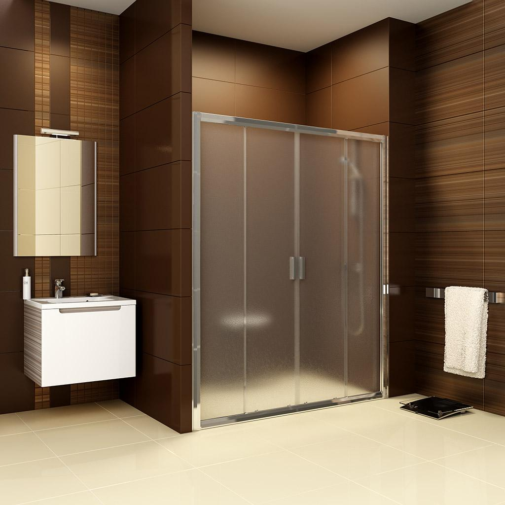 Душевая дверь Ravak BLDP4 180 белый + Транспарент