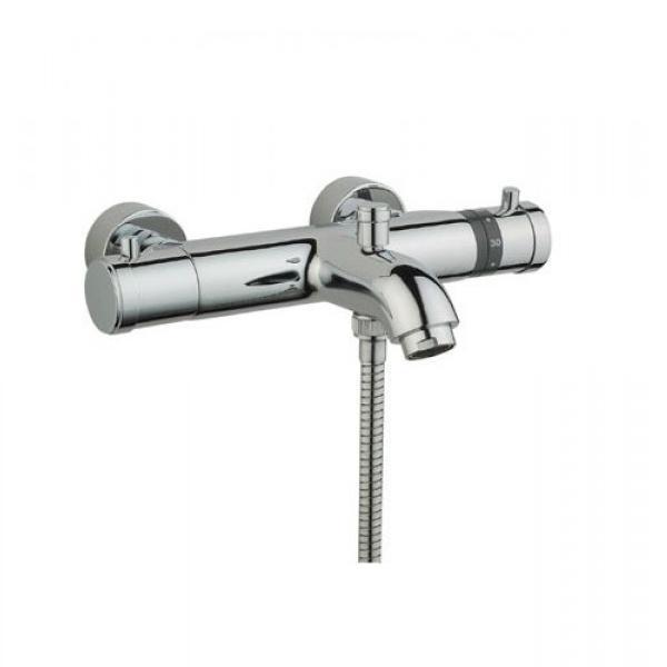 Смеситель Vitra AquaHeat A47015 для ванны смеситель для ванны vitra aquaheat термостат a47015exp