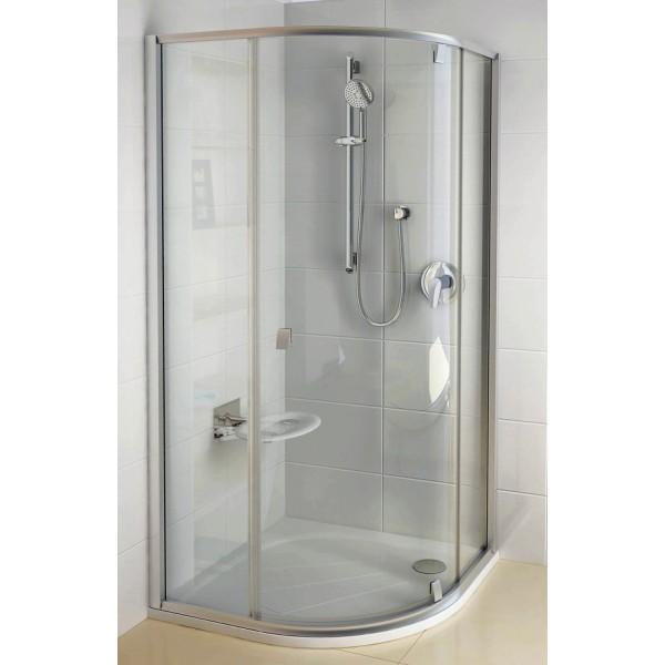 Душевой уголок Ravak BSKK3 100 L хром+Транспарент душевой уголок royal bath 100 100 198 стекло шиншилла rb10hkc