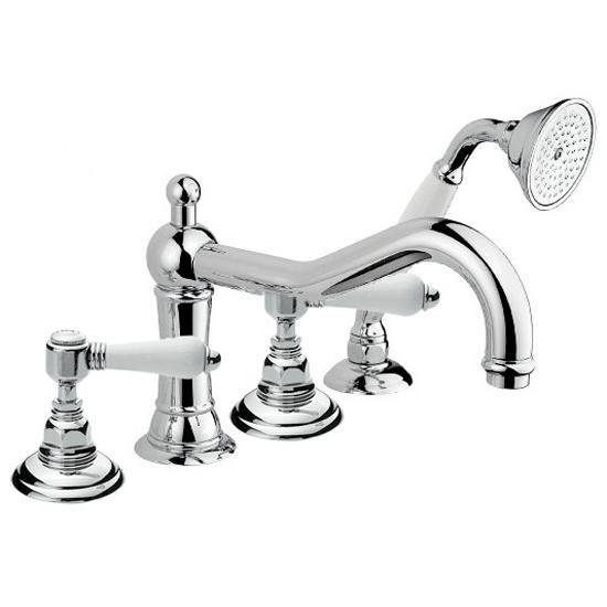 Смеситель Nicolazzi Classica 1449 CR 78 для ванны смеситель для ванны кросс 110002 двухвентильный хром smart смарт