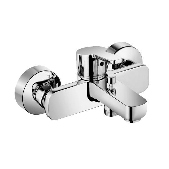 Смеситель Kludi Logo Neo 37681 0575 для ванны смеситель для ванны коллекция logo neo 376810575 однорычажный хром kludi клуди